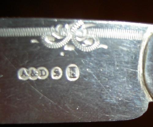 Fish Knife Set Hallmark Help Please Reading Silver