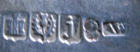 A pair Edinburgh serving spoon 1815 hallmarks.jpg