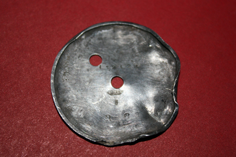 Finds - August 6, 2011 - silver disk copy.jpg