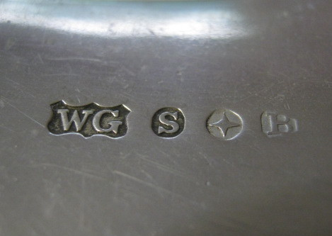 X 3 2 >> Can anyone identify WG S star B - Reading Silver Hallmarks - Silver Collector Forums