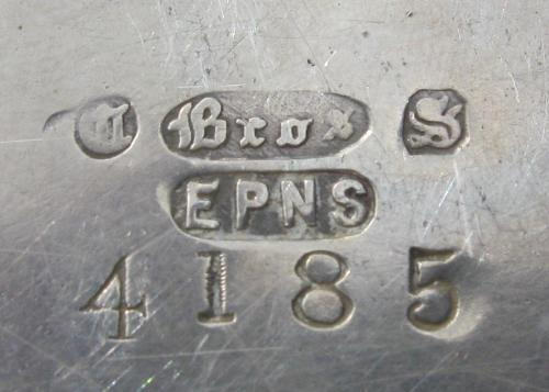 Mean silver what epns marks Numbers on